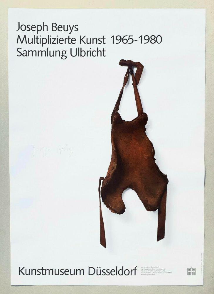 Lithographie Beuys - Multiplizierte kunst