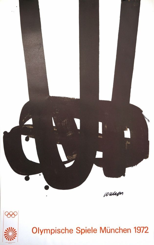 Lithographie Soulages - Munich 72