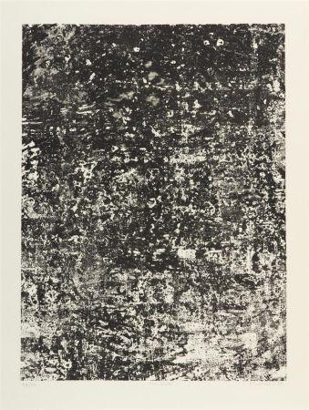 Lithographie Dubuffet - Mur Ecaill