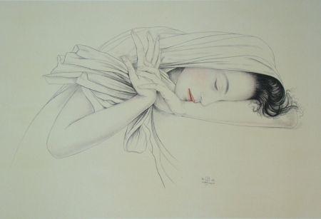 Lithographie Sauer - Murasaki