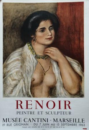 Affiche Renoir - Musée Cantini - Marseille