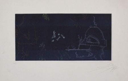 Gravure Ponç - Musée d'Art Moderne de la Ville de Paris