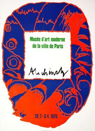 Affiche Alechinsky - Musée d'art moderne de la ville de Paris