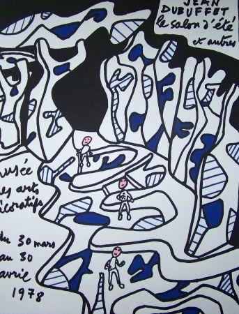 Affiche Dubuffet - Musée des arts décoratifs