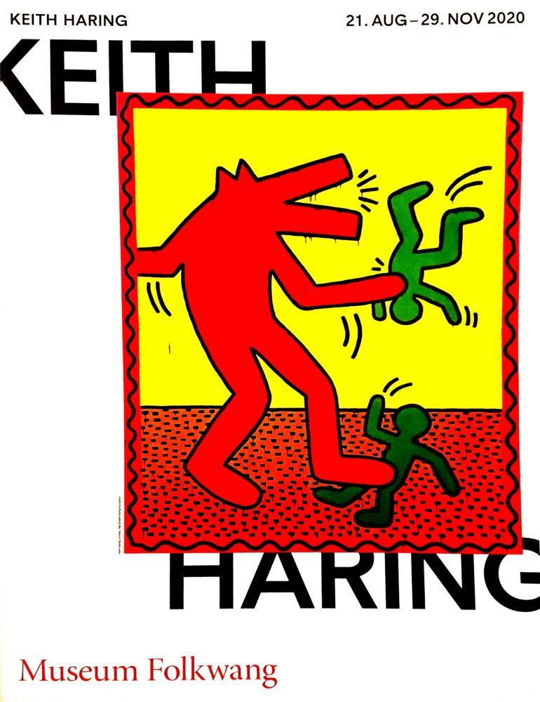 Affiche Haring -  Musée Folkwang de ESSEN