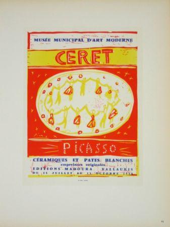 Lithographie Picasso (After) - Musée  Municipal de Céret  1958