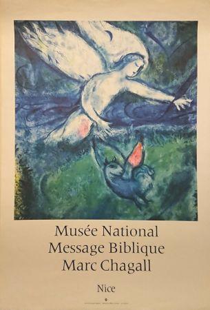 Affiche Chagall - '' Musée National Message Biblique ''