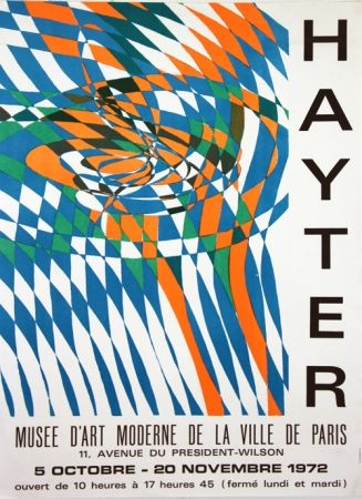 Lithographie Hayter - Musee D'Art Moderne de Paris