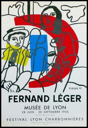 Lithographie Leger - MUSEE DE LYON - FESTIVAL LYON CHARBONNIERES