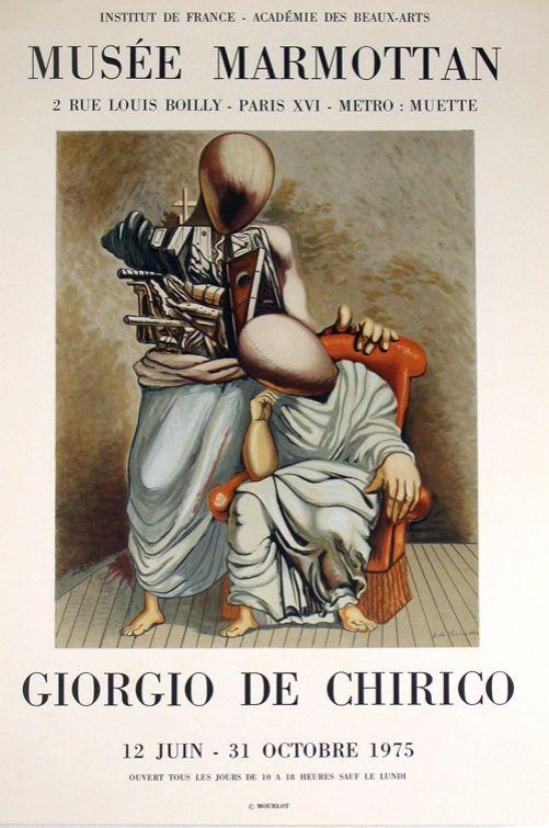 Lithographie De Chirico - Musee Marmotan