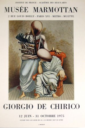 Lithographie De Chirico - Musee Marmotan