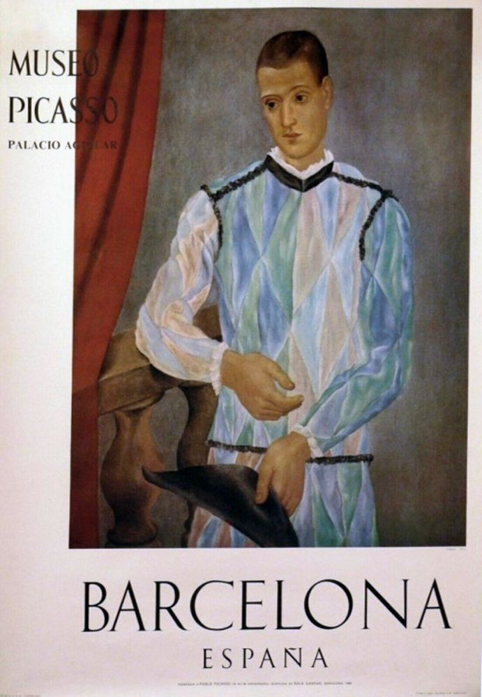 Affiche Picasso - '' Museo Barcelona ''