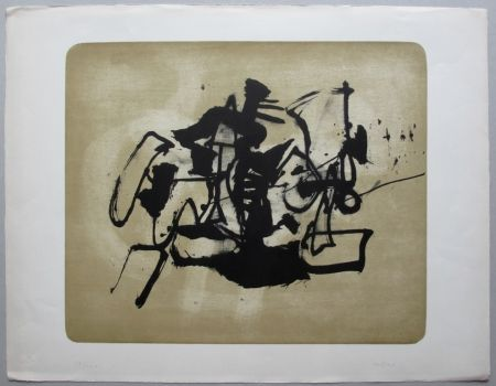 Lithographie Afro - Museo Hamburg