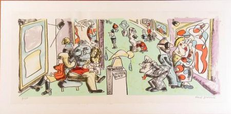 Lithographie Grooms - Museum