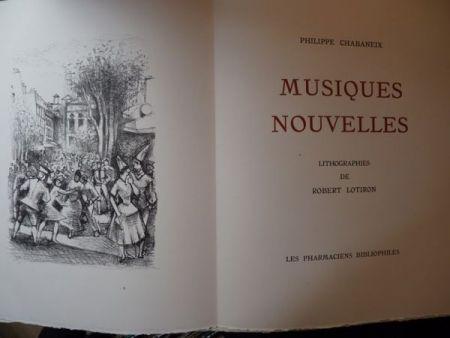 Livre Illustré Lotiron - Musiques nouvelles