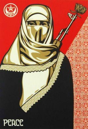 Sérigraphie Fairey - Muslim Woman