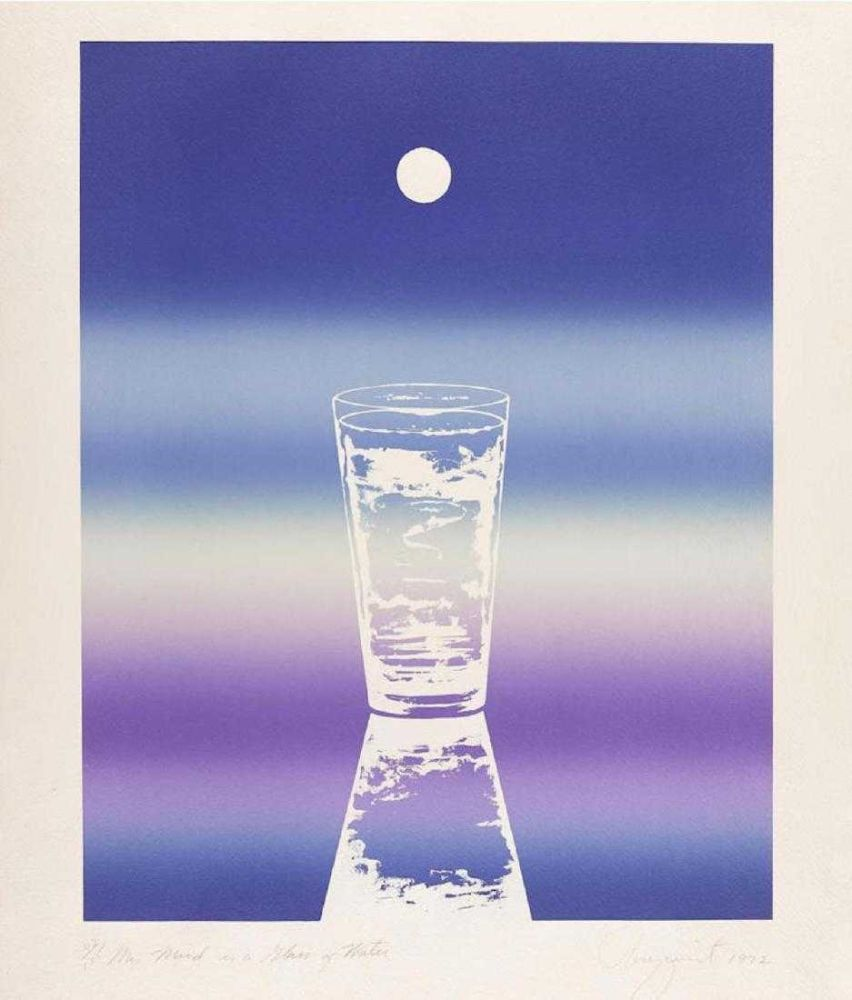 Lithographie Rosenquist - My mind is a glass of water