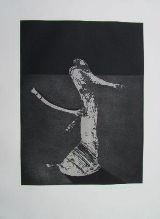 Gravure Scholder - Mystery Portrait In Barcelona