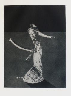 Gravure Scholder - Mystery Portrait in Barcelona 1