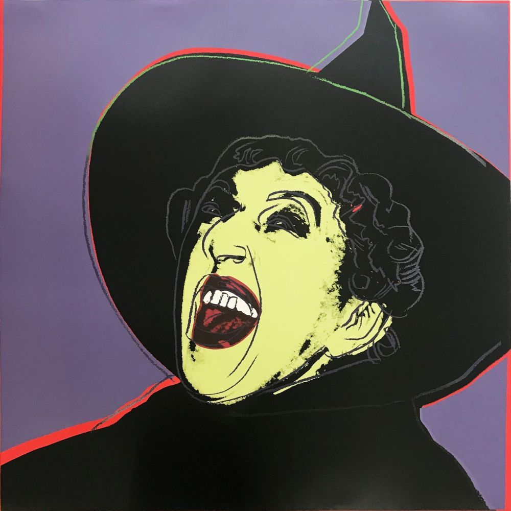 Sérigraphie Warhol - Myths: The Witch