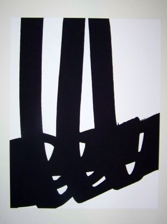 Lithographie Soulages - N°29 1972