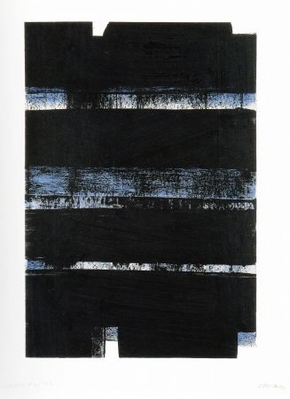 Lithographie Soulages - N 3 2 a