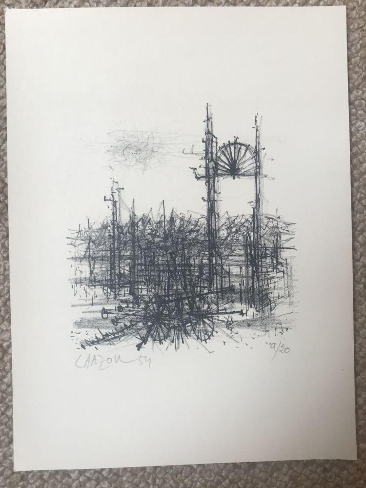 Lithographie Carzou - N/A