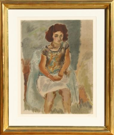 Lithographie Pascin - Nana