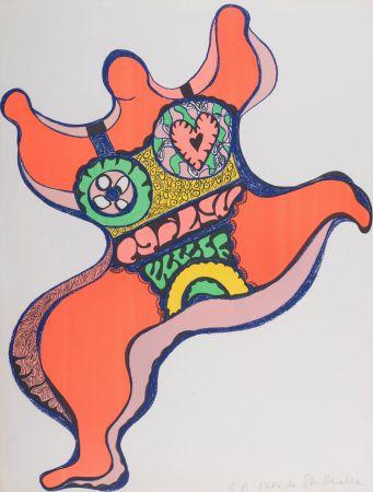 Lithographie De Saint Phalle - Nana, 1971. Lithographie signé.