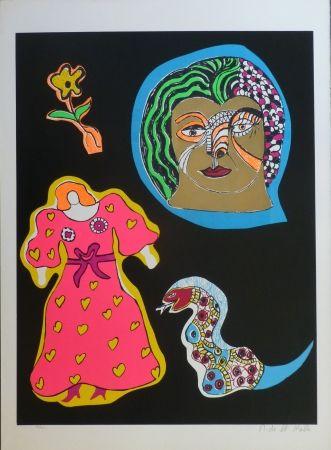 Sérigraphie De Saint Phalle - NANA POWER
