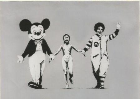 Sérigraphie Banksy - Napalm