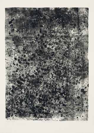 Lithographie Dubuffet - Nappe Léopardée