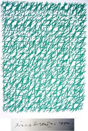 Lithographie Dorazio - Natale