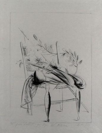 Lithographie Manzu - Natura morta