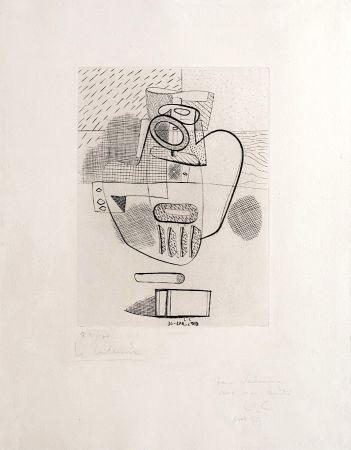 Gravure Le Corbusier - Nature Morte