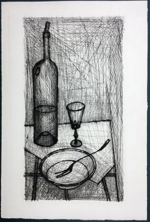 Eau-Forte Buffet - Nature morte pour Recherche de la Purété (1953)
