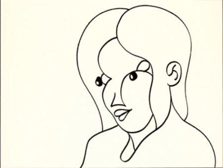 Lithographie Macías - Negro 1