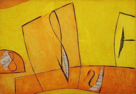 Gravure Cascella - Nel giorno assoluto giallo