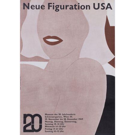 Affiche Wesselmann - Neue figuration USA 1969