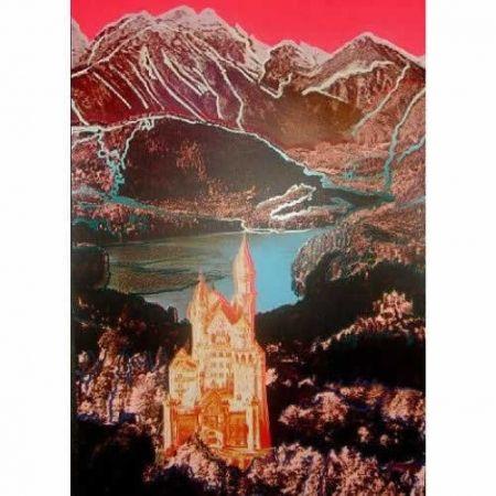 Sérigraphie Warhol - Neuschwanstein