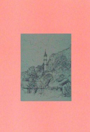 Lithographie Carzou - Neuschwanstein II