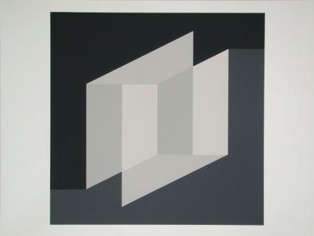 Sérigraphie Albers - Never Before