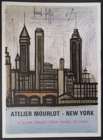 Lithographie Buffet - New-York