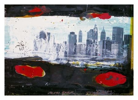 Lithographie Soulie - New York