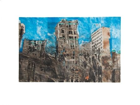 Eau-Forte Et Aquatinte Salzmann - New York Reflexion 2004