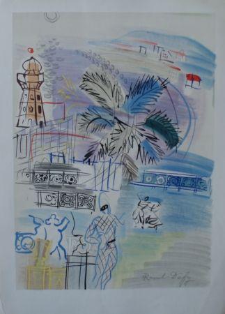 Lithographie Dufy - Nice