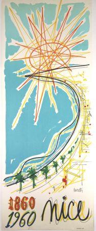 Lithographie Moretti - Nice 1860 1960