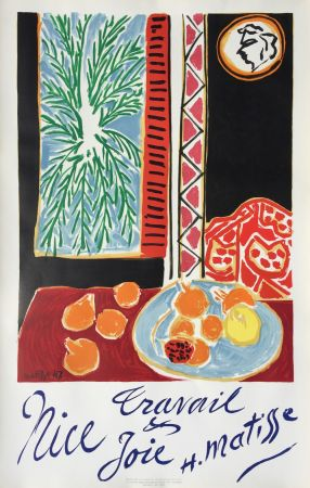 Lithographie Matisse - Nice Travail et Joie