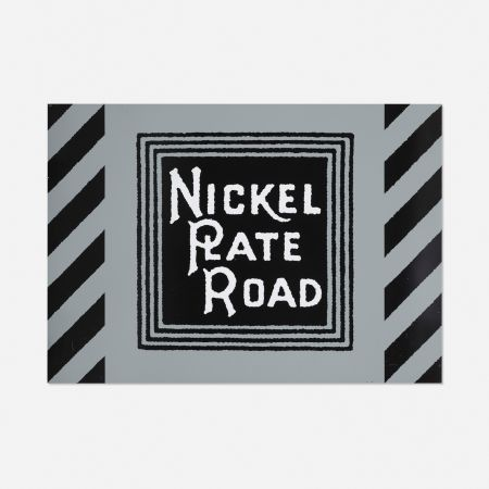Sérigraphie Cottingham - NIckel Plate Road Railway