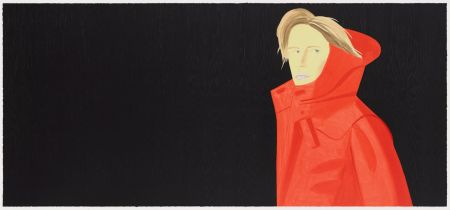 Lithographie Katz - Nicole